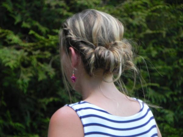 Coiffure headband coté
