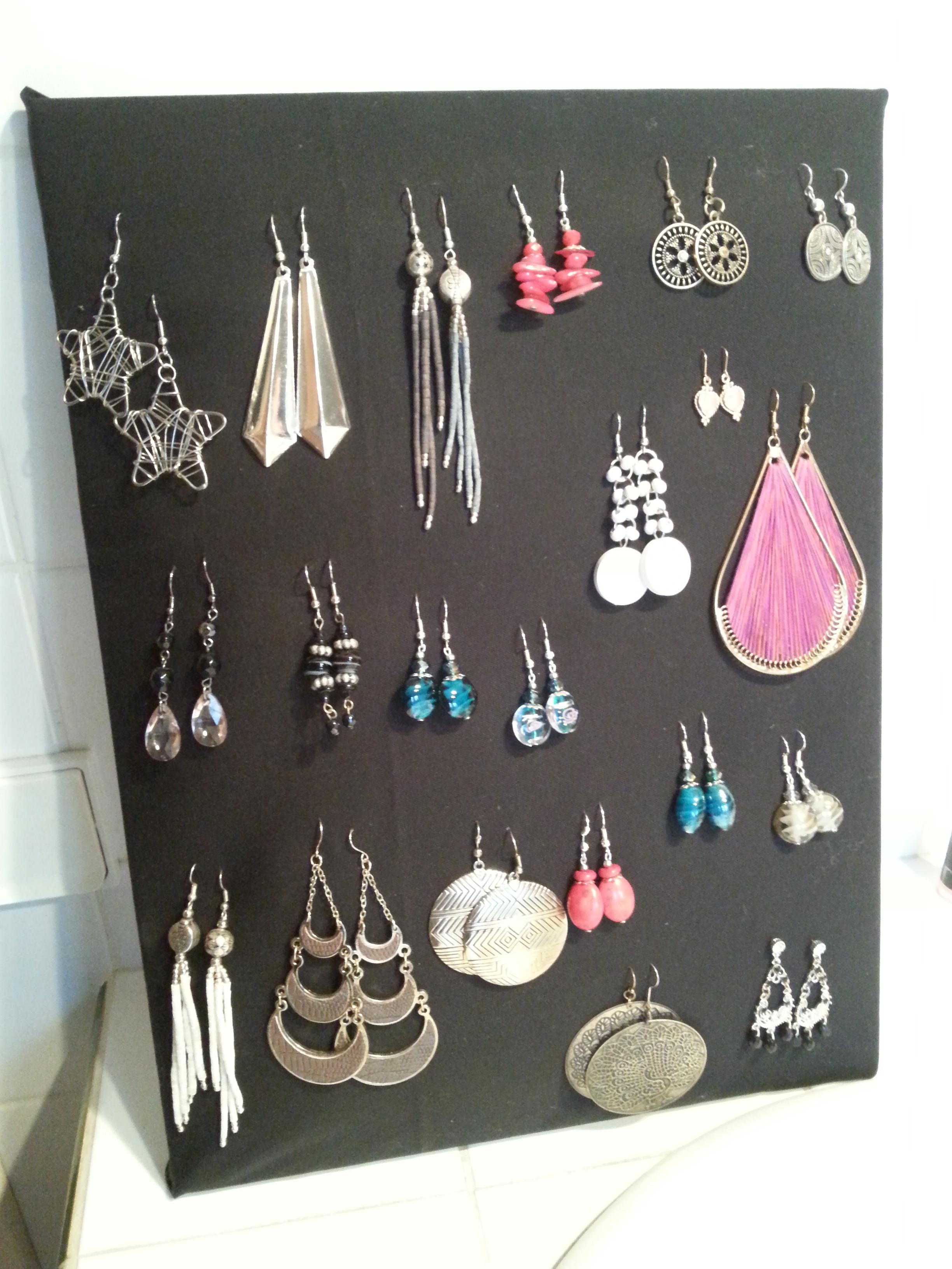 Comment fabriquer un porte boucle d oreille fashion designs - Boucle d oreille diy ...