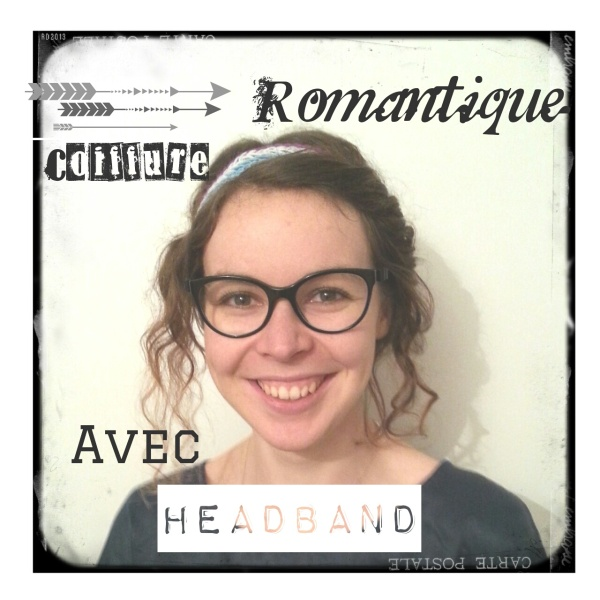 Headband coiffure romantique cheveux bouclés