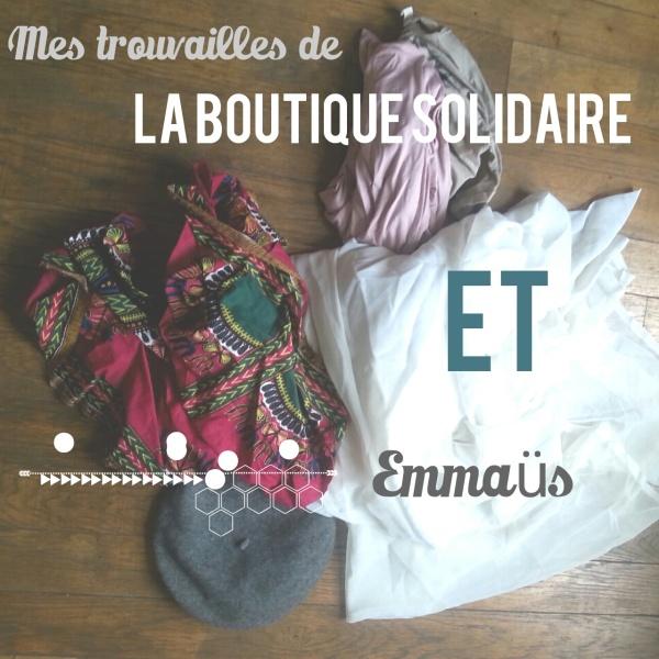 La boutique solidaire et emmaus
