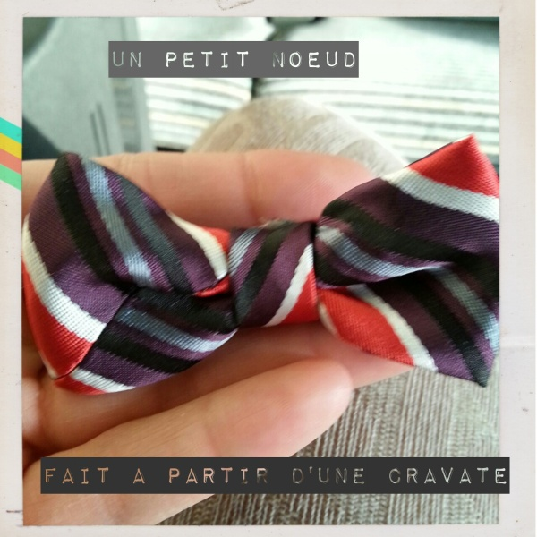 Un petit noeud en cravate