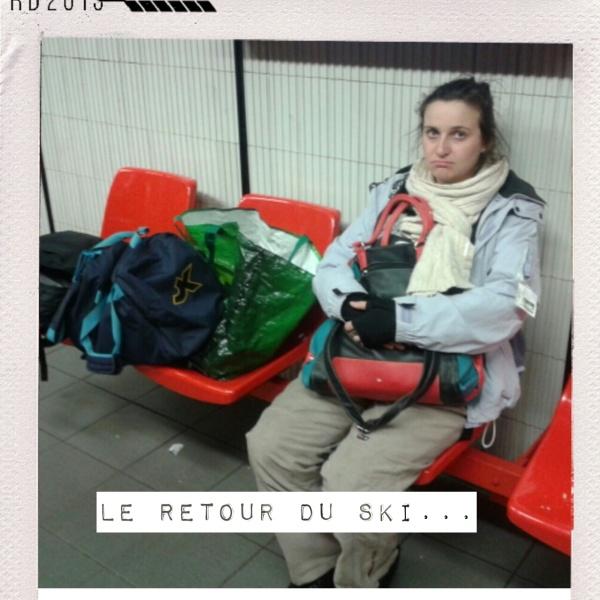 Une roumaine dans le metro