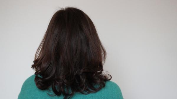 Cheveux après Biocoiff