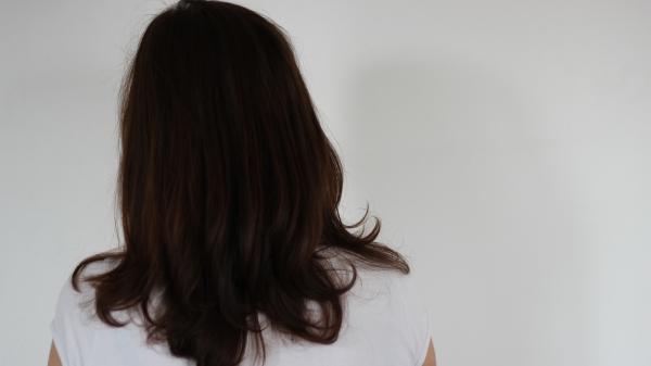 Henné cheveux auburn egypte brushés