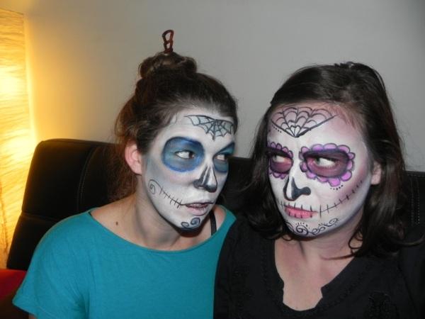 masque mexicain collodion halloween