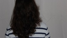 journal de pousse cheveux longs auburn henné