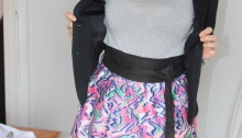 Couture patron jupe meringue